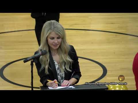 Rineyville Elementary School KPREP Awards February 2020