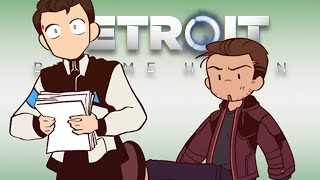 Gavin Loves His Soft Cats [Reed900] - 16ruedelaverrerie Comics | Detroit: Become Human Comic Dub