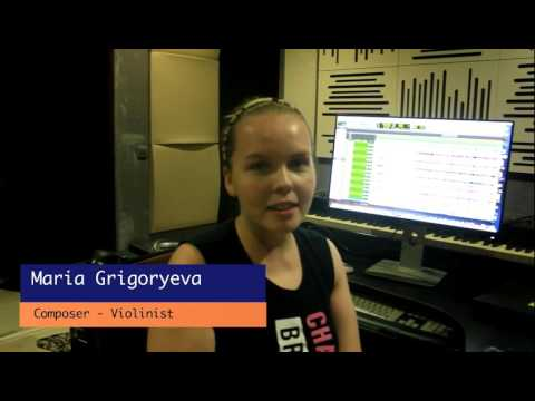 Maria Grigoryeva - Russian Composer & Violinist - Acoustic Treatment Testimony