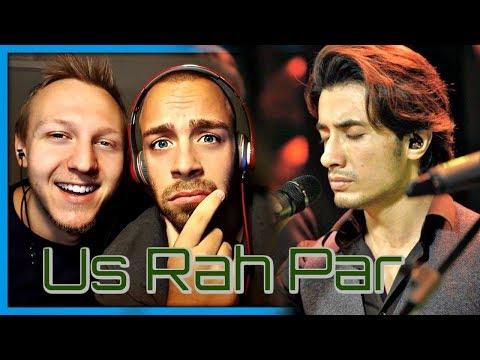 Ali Hamza & Ali Zafar feat. Strings Us Rah Par Coke Studio Season 10 Season Finale   Reaction by RnJ