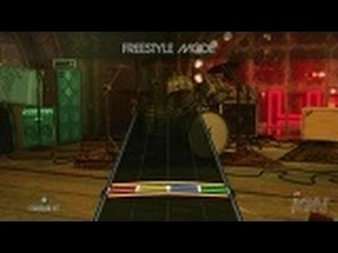 Rock Band 2 Nintendo Wii Gameplay - Freestyle Drums