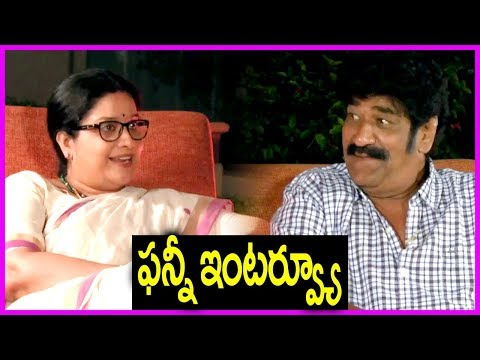 Actress Tulasi And Raghu Babu Exclusive Interview | Oye Ninne Movie