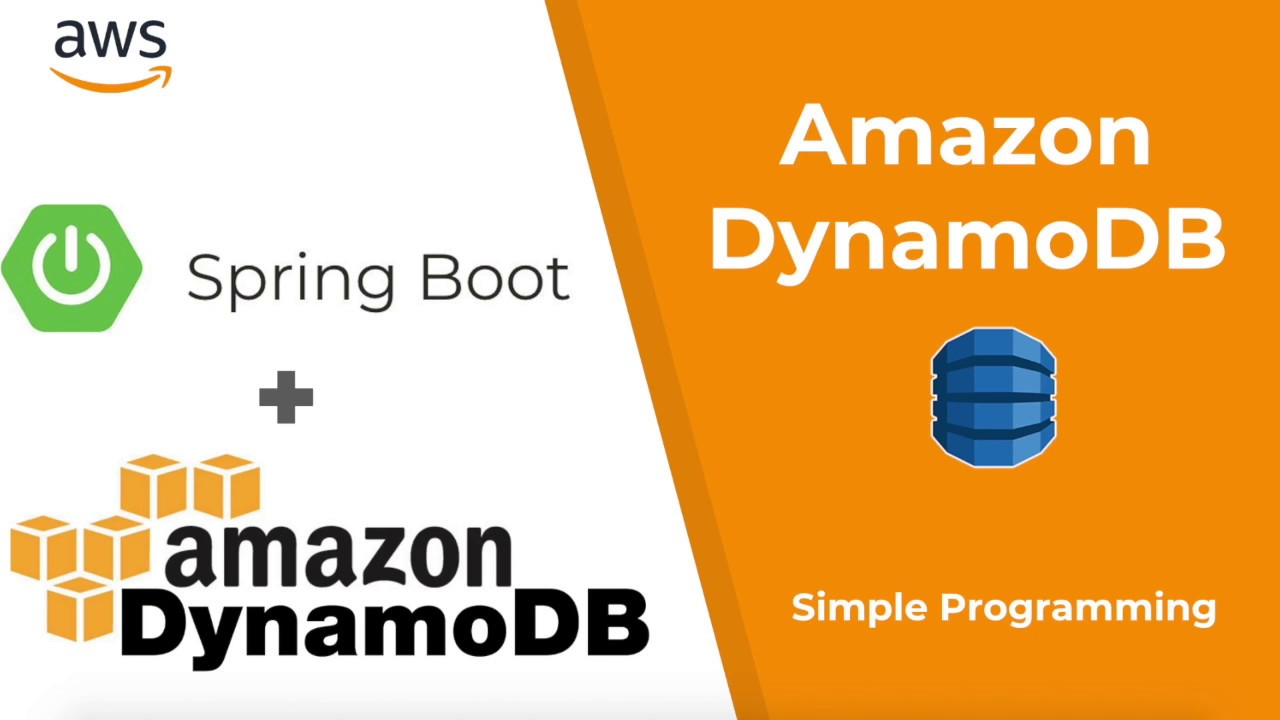 Amazon Web Services | AWS DynamoDB | Spring Boot | Example | Simple  Programming