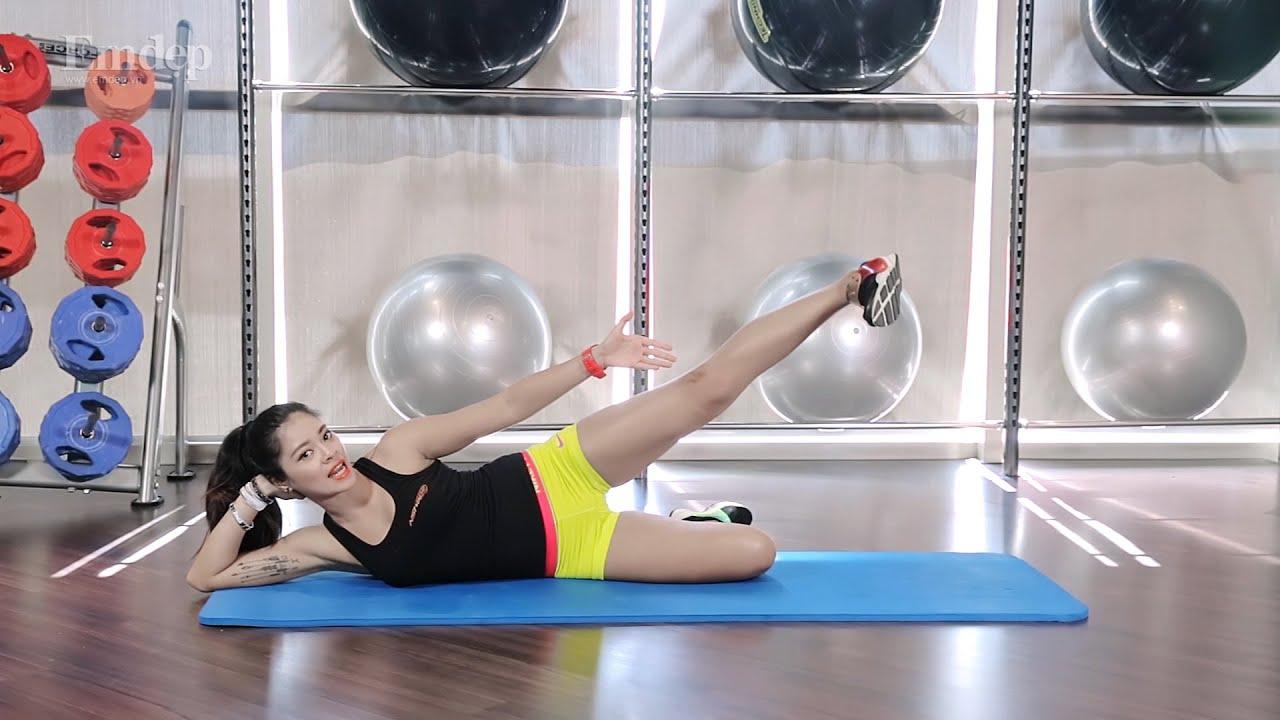 [Emdep TV] Bài tập giúp bắp chân thon gọn đơn giản, CỰC HIỆU QUẢ