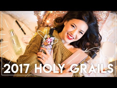 2017 HOLY GRAILS || BEST products of the year!