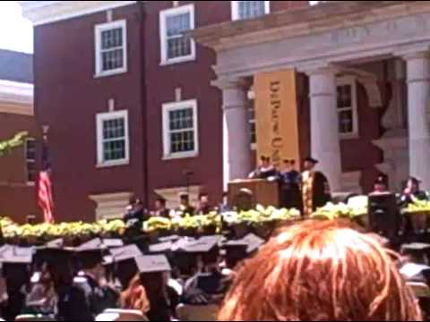 Dr. David Cryer Receives his Honorary Doctorate in Musical Arts from DePauw University