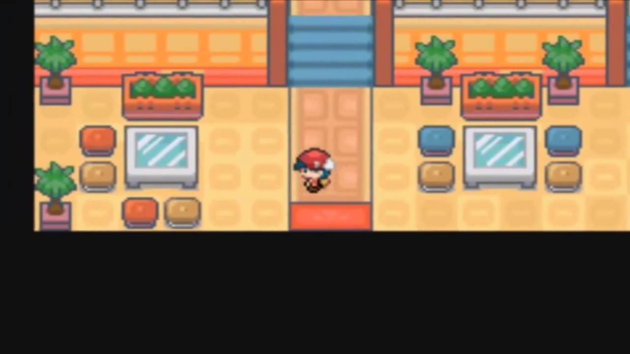 Pokemon Light Platinum : Walk Through Walls Cheat Code