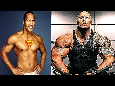 Thumbnail: The Rock - Transformation From 1 To 45 Years Old