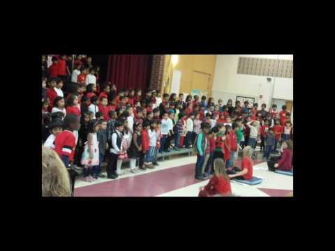 Rishita C Town Center Elementary School Christmas Celebration - 2016