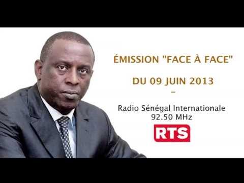 Emission Face à Face - Radio Sénégal International