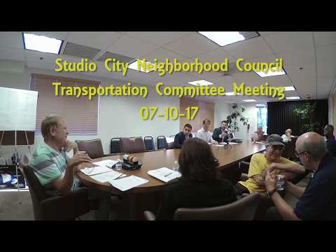 SCNC Transportation Committee 07 10 17