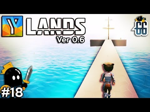 Ylands - Dock complete! Now time for the ship! - EP18  ✔