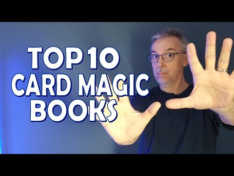 Best Magic Books - Top 10 Card Magic Books