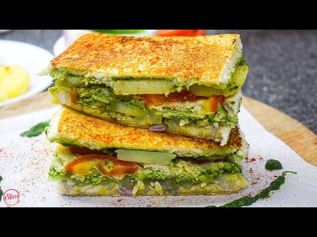 Bombay Sandwich | Bombay Sandwich Recipe