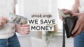 10 Unusual Ways Wę SAVE MONEY   Minimalist Money Saving Tips