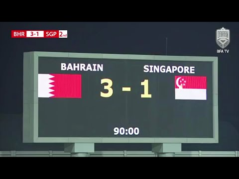 Highlights: Bahrain 3-1 Singapore | Friendly Match
