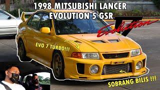 1998 mitsubishi lancer evolution 5 gsr // 4G63 legit evo // full car review // sobrang...