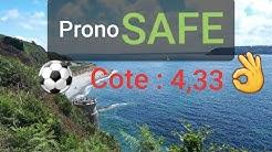 ⚽️ Pronostic SAFE DU JOUR  cote à 4,33