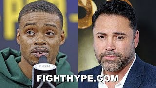 "(WOW!) ERROL SPENCE TELLS DE LA HOYA ""YOU DON'T TREAT BLACK FIGHTERS WELL""; SNUBS CONGRATS OFFER"