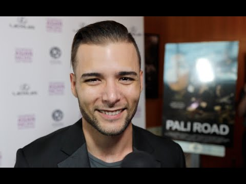 Actor Cody Gomes  his support for Pali Road and LA Asian Pacific Film Festival