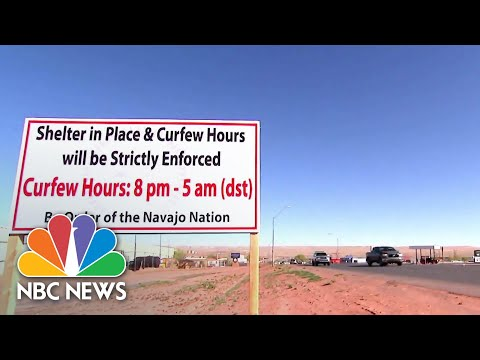 'You Are Not Going To Take Any More Of My People': COVID-19 Hits Navajo Nation Hard | NBC News NOW
