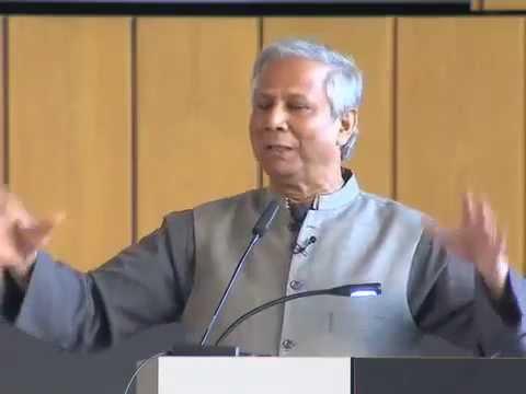 Prof. Muhammad Yunus on Entrepreneurship @ Entrepreneurship Summit 2009