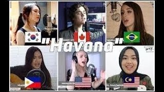 Who Sang It Better Havana (Malaysia, US, Canada, Philippines, Brazil, South Korea)