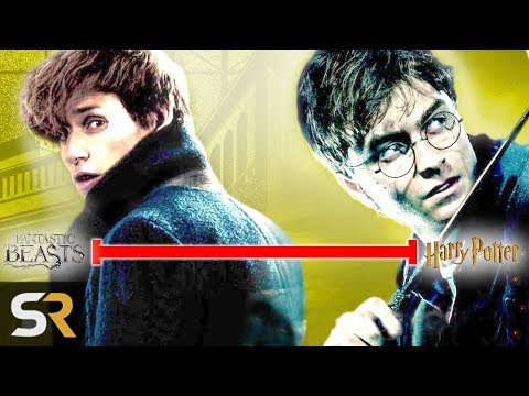 The Entire Harry Potter/Fantastic Beasts Timeline Explained