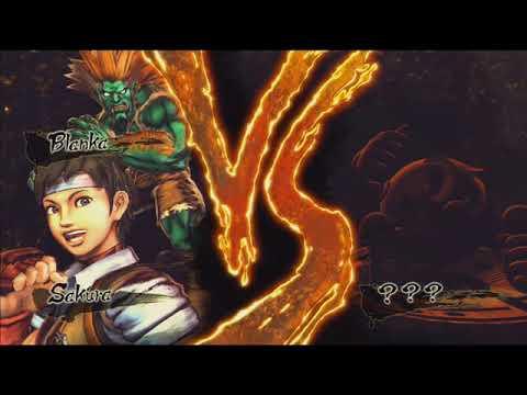 Street Fighter X Tekken Soundtrack - VS Screen (Pac-Man)
