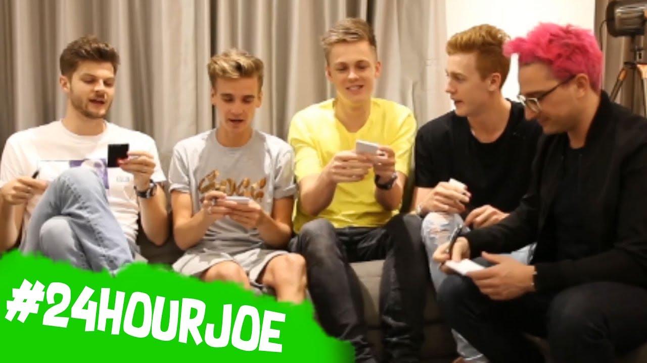 HOT SEAT GAME w/ Caspar, Jim, Josh & Grant