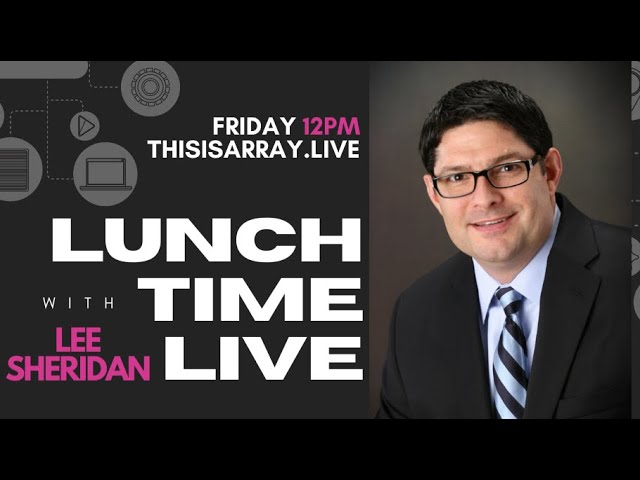 Expand Your Business Feat. Lee Sheridan - Lunchtime Live