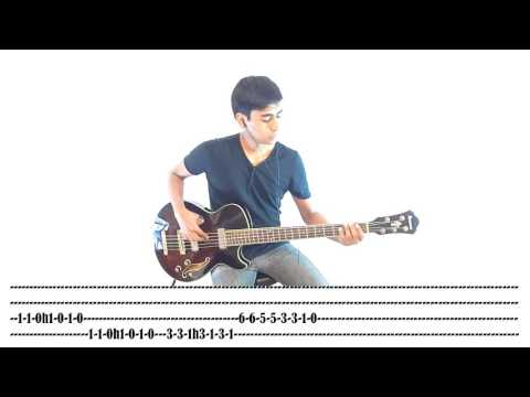 No Doubt | Spiderwebs (Bass Cover with Tabs)