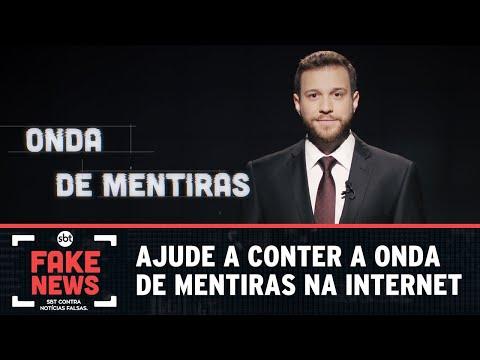 SBT Contra Notícias Falsas: ajude a conter a onda de mentiras na internet