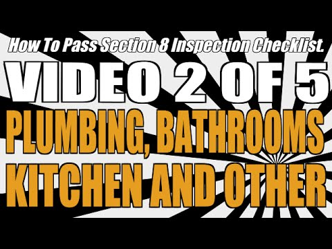 How to pass section 8 inspection video plumbing bathrooms how to pass section 8 inspection video plumbing bathrooms kitchen and other publicscrutiny Choice Image