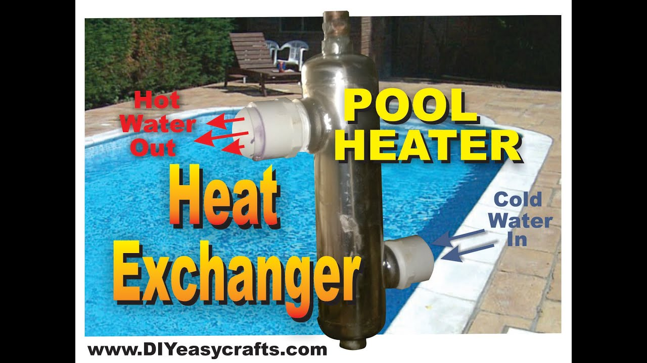 Heat Exchanger For Pool Heater Diy How To Youtube