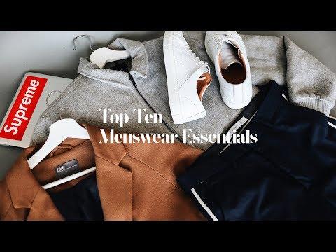 Top Ten Affordable Menswear Essentials Every Guy Needs/Must Try