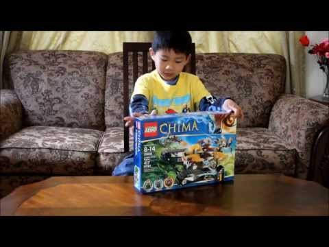 5 Year Old Boy Build Lego Laval S Royal Fighter Chima
