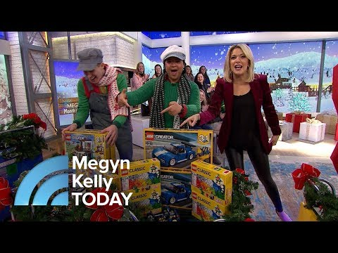 Megyn Kelly Audience Receives Lego Sets, Spanx Fashion Wear, Tote Bags | Megyn Kelly TODAY