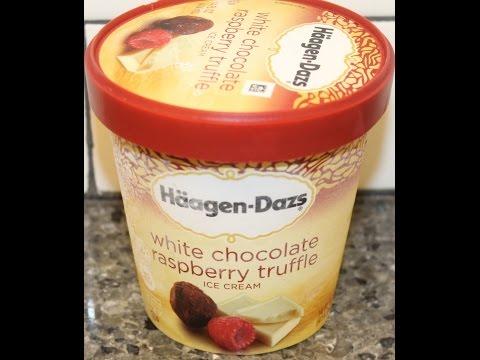 Häagen-Dazs White Chocolate Raspberry Truffle Ice Cream Review