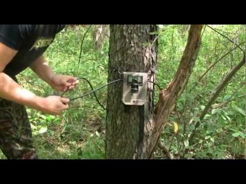 How To Set Up A Trail Camera Trail Camera Setup Youtube