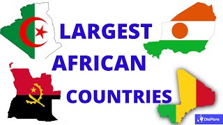 Top 10 Largest Counтries in Africa - Surface Area