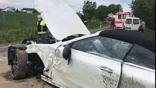 Schwerer Unfall auf der L 107 bei Landkern