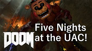 Five Nights at the UAC!!! |  DOOM SnapMap Five Nights at Freddy's Remake