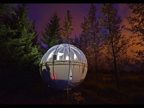 Camping unik & seru di Bubble Iceland