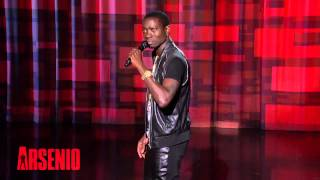 Michael Blackson Standup on The Arsenio Hall Show