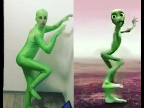 challenge dance alien dametucosita mon poto vert musically youtube