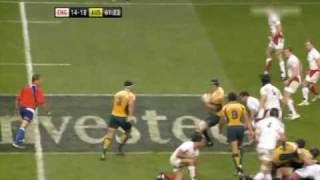 Sterling Mortlock tackle on Riki Flutey