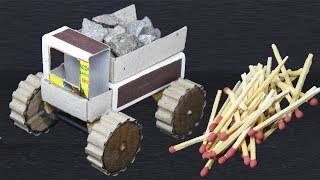 How to make a Dumping Truck With Matchbox