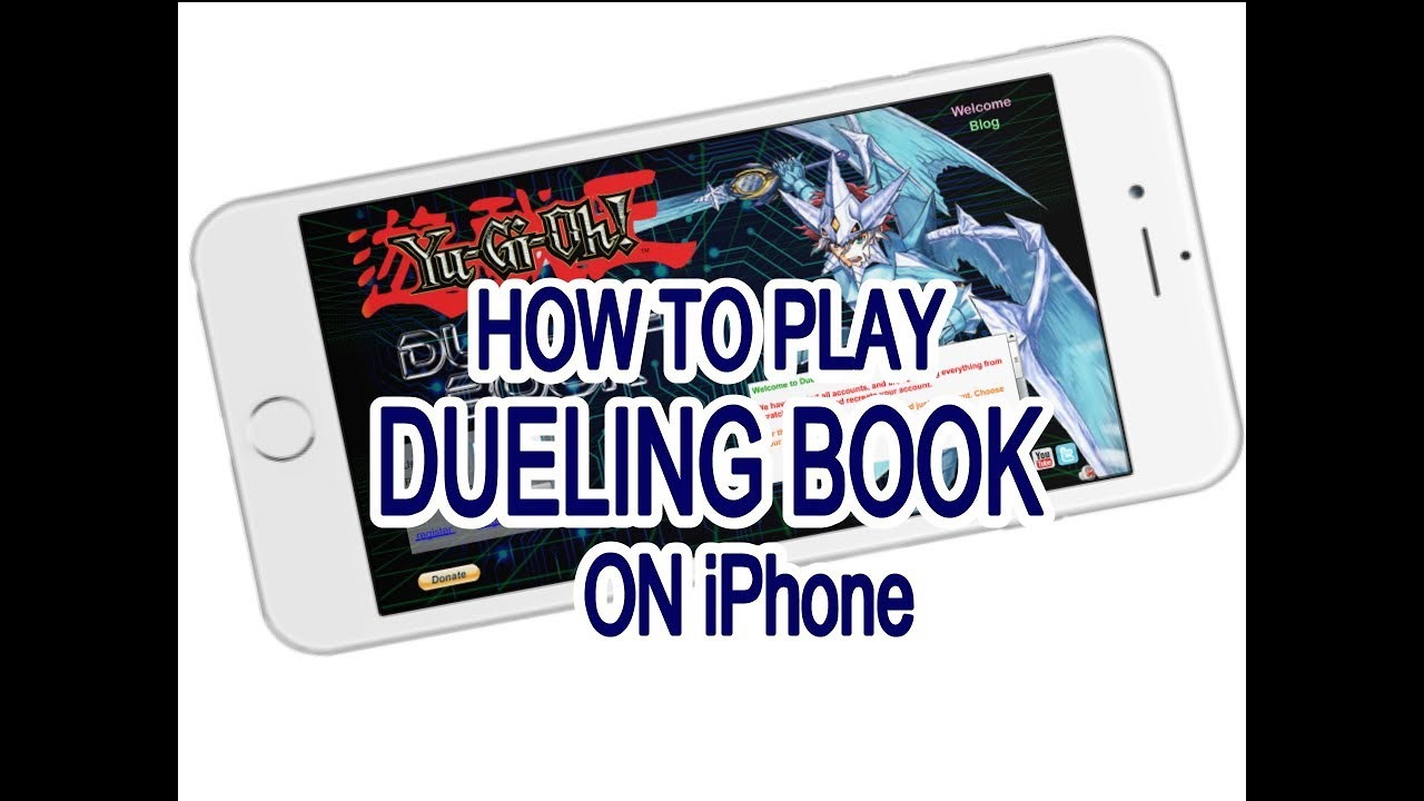 HOW TO PLAY DUELING BOOK ON iPHONE!