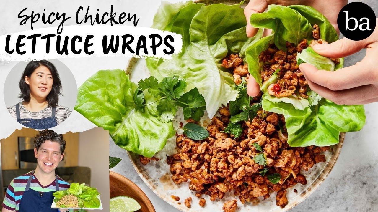 Testing Christina Chaey's Spicy Chicken Lettuce Wraps   Healthy-ish   Bon Appetit Review #76